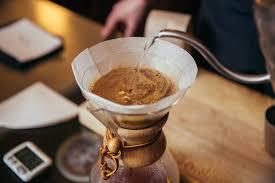 Chemex Coffee Maker pour over technique