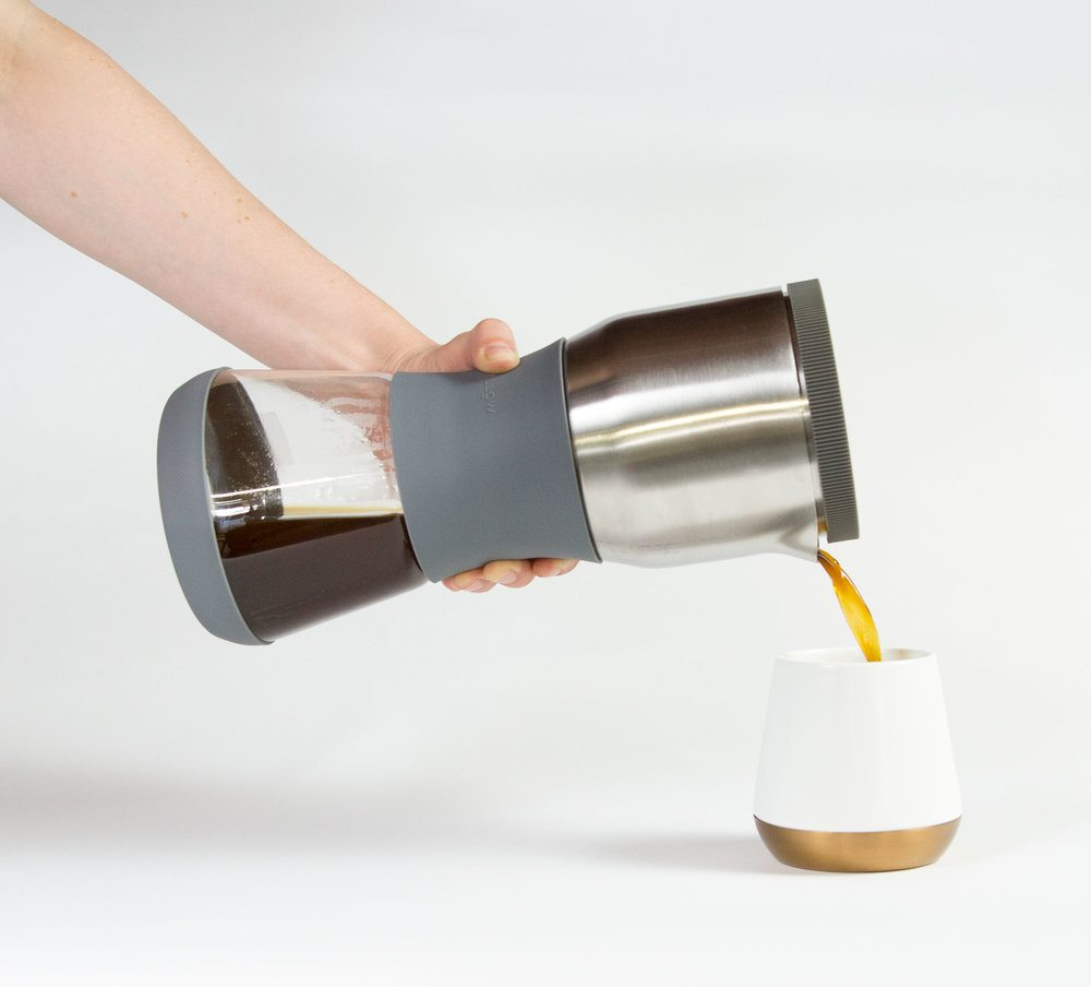 Fellow Duo strongest coffee pour