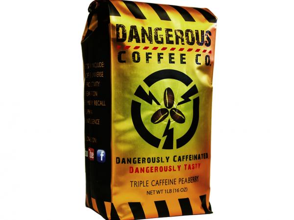 12 OZ Ground Highest Caffeine Best Tasting Coffee