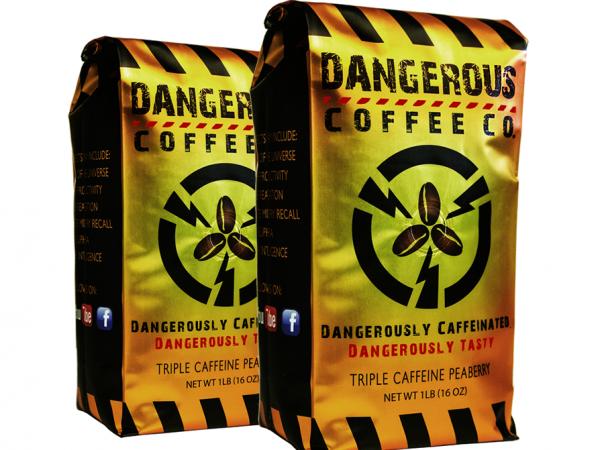 2 LB Ground Highest Caffeine Best Tasting Coffee